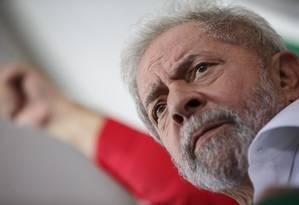 Ex-presidente petista foi denunciado nesta tarde pelo MPF Foto: Daniel Marenco / Agencia O Globo / Agência O Globo