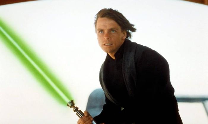 Luke Skywalker em 'O Retorno de Jedi' Foto: Reprodução