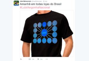 Internautas brincam com denúncia do MPF contra Lula Foto: Reprodução/Twitter