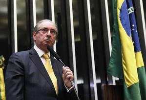 Ex-presidente da Câmara foi cassado na segunda-feira por 450 votos a 10 Foto: Ailton de Freitas / Agência O Globo