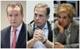 Os candidatos à prefeitura de São Paulo Celso Russomano (PRB), João Doria (PSDB) e Marta Suplicy (PMDB)