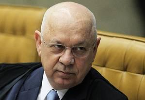 O ministro do STF Teori Zavascki Foto: Jorge William / Agência O Globo
