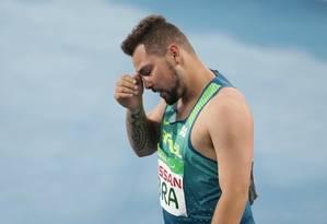 Alan Fonteles chegou fora de forma à Rio 2016 e foi criticado Foto: Márcio Alves/Agência O Globo