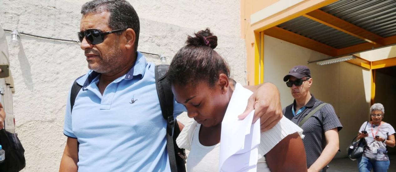 Acusada de entregar criança para Coronel, Thuanne é transferida para Bangu nesta quarta-feira Foto: Fabiano Rocha / Agência O Globo