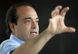 Entrevista com Carlos Roberto Osório, candidato do PSDB à prefeitura do Rio Foto: Marcelo Carnaval / Agência O Globo