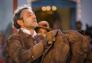 Domingos Montagner em cena de 'Velho Chico' Foto: Caiua Franco / -