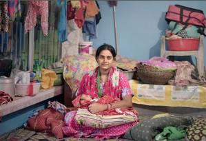 Uma mulher e seu bebê na Índia Foto: Divulgação / Pieter ten Hoopen/London School of Hygiene & Tropical Medicine