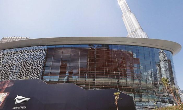 Ópera de Dubai Foto: Ahmed Jadallah/Reuters/30-08-2016