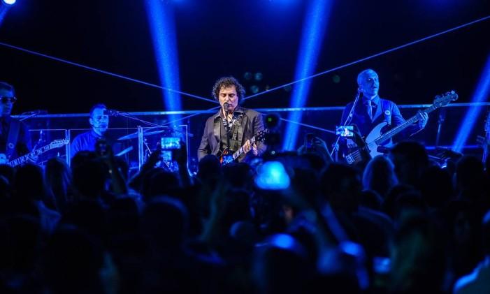 Frejat abriu a temporada de shows da casa Foto: Raphael Medeiros / Divulgação