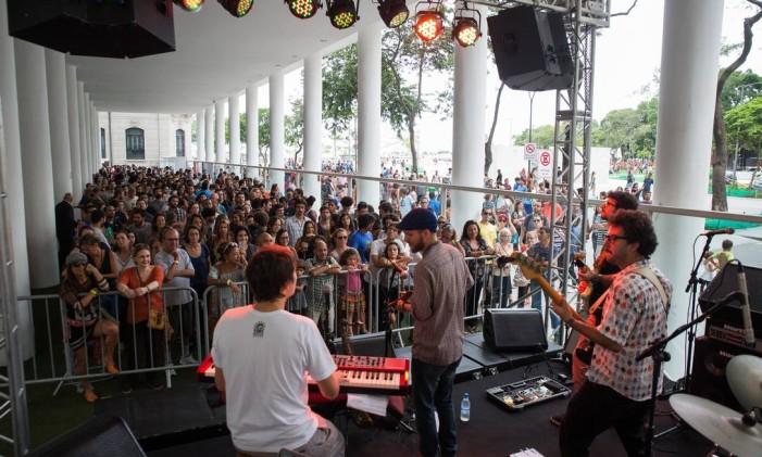 Bondesom toca no MAR de Música Foto: Thales Leite / Divulgação