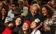 Lançamento da pré-candidatura de Jandira Feghali à prefeitura do Rio contou com a presença de Lula