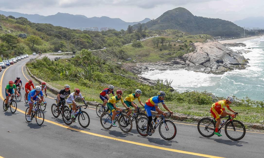 Foi a segunda medalha de Chaman no ciclismo da Paralimpíada do Rio. Marco Antonio Teixeira / MPIX /CPB