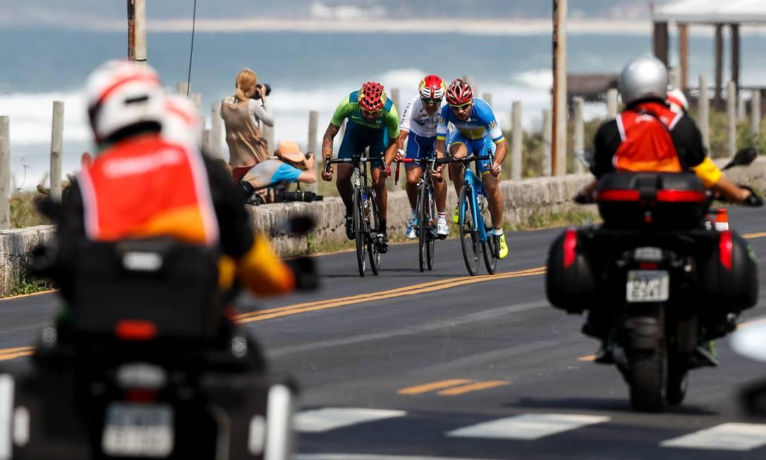 O ciclismo de estrada é um teste de resistência. Washington Alves / MPIX/CPB