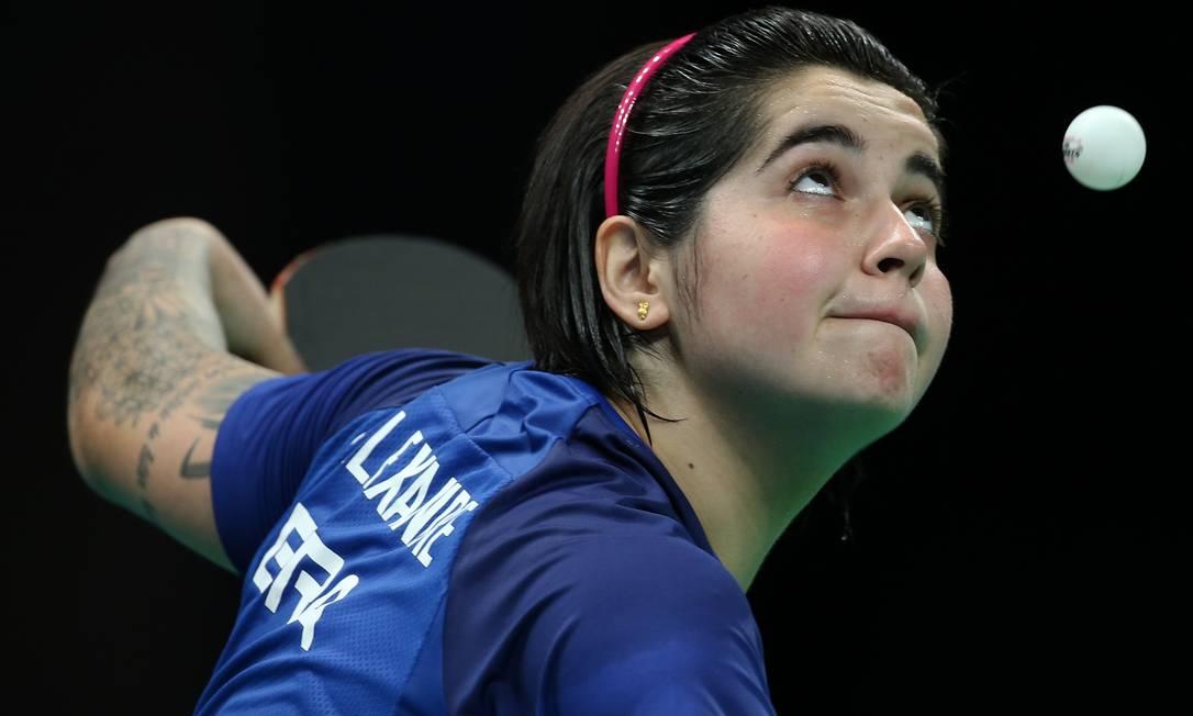 Bruna Alexandre durante a partida contra a Austrália. Brasil levou a medalha de bronze Fernando Maia / MPIX/CPB