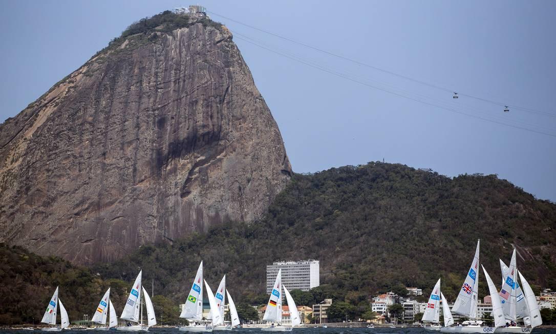 Finais da vela Hermes de Paula / Agência O Globo