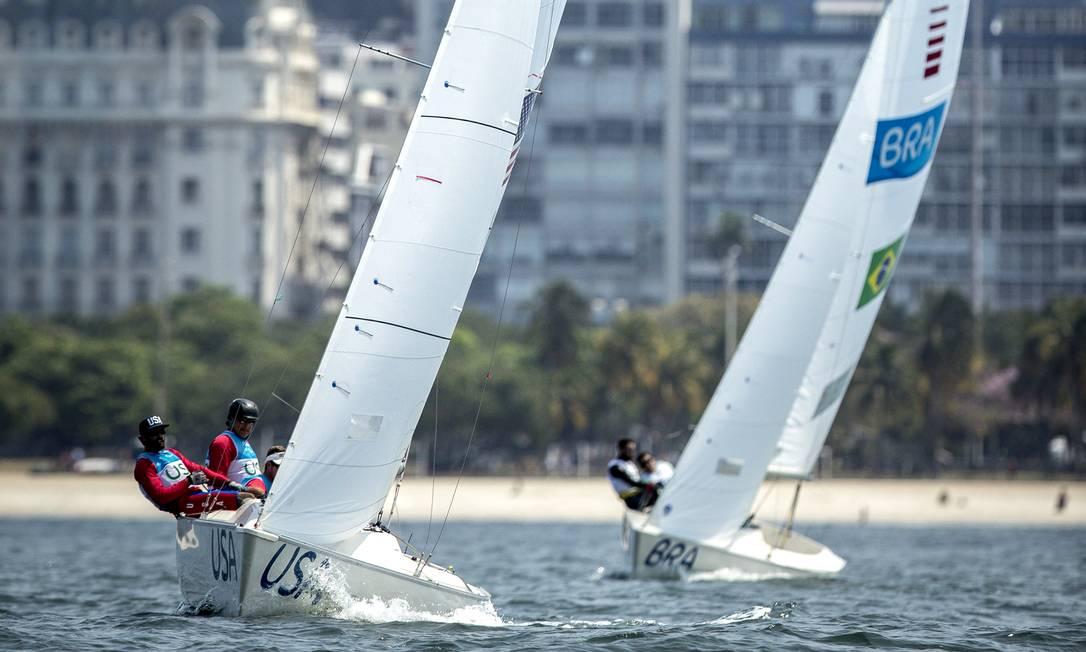 Penúltimo dia da Paralimpíada teve competição de vela, classes Sonar, Skud 18 e 2.4mR Hermes de Paula / Agência O Globo