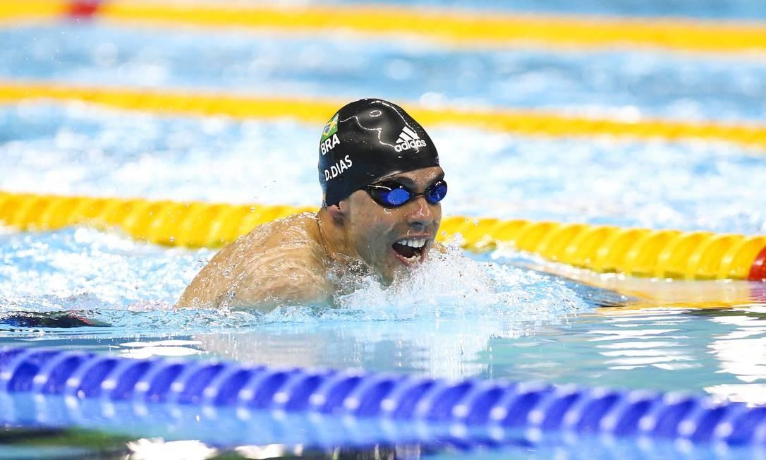 Daniel Dias ganhou a prata nos 100m do peito masculino (SB4) Foto: Monica Imbuzeiro / Agência O Globo