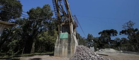 A mina de onde se retirou o ouro usado nas medalhas dos Jogos fica em Campo Largo, no Paraná, e é desconhecida de muitos moradores da cidade Foto: Agência O GLOBO / Alexandre Cassiano