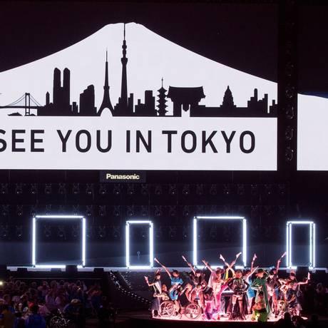 'Te vejo em Tóquio', a mensagem para 2020, próximos Jogos Paralímpicos Foto: Simon Bruty for OIS/IOC / Agência O Globo