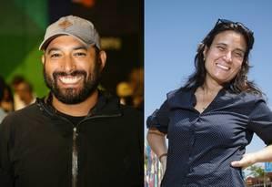 Gaetano Lops, diretor-geral da Gael Produções, e Andrea Franco, diretora artística do Boulevard Olímpico Foto: Estúdio Retrato / Fernando Lemos