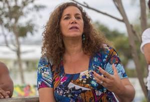 Jandira atacou a suposta falta de transparência das contas da prefeitura Foto: Divulgação/Bruno Bou/Cuca da UNE