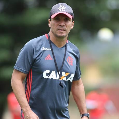 Zé Ricardo confirmou Flamengo com time misto contra o Palestino na Sul-Americana Foto: Gilvan de Souza / Flamengo.com.br