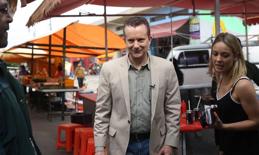 O candidato à prefeitura de São Paulo, Celso Russomano Foto: O Globo