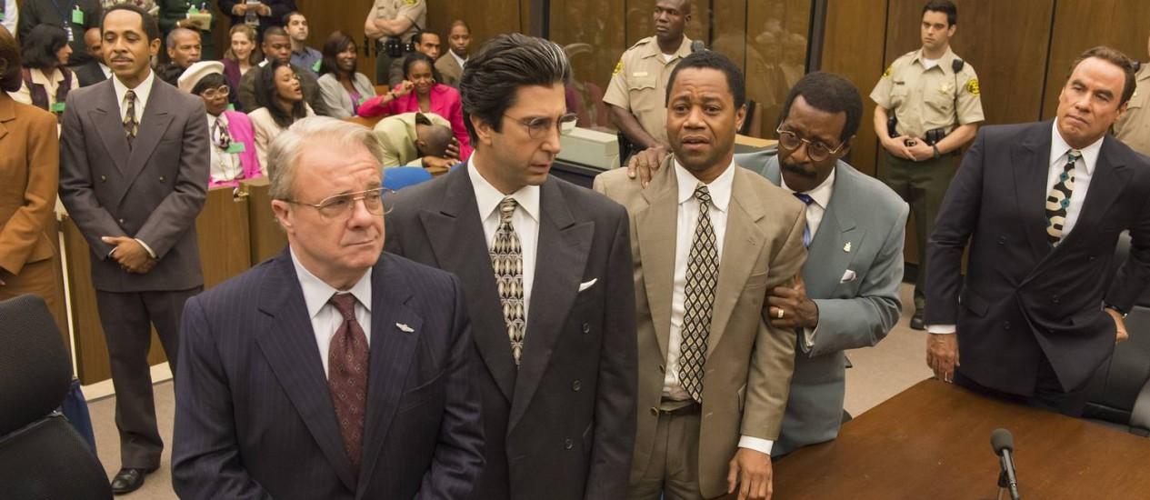 Cena de 'American crime story: The people v. O.J. Simpson' Foto: Divulgação