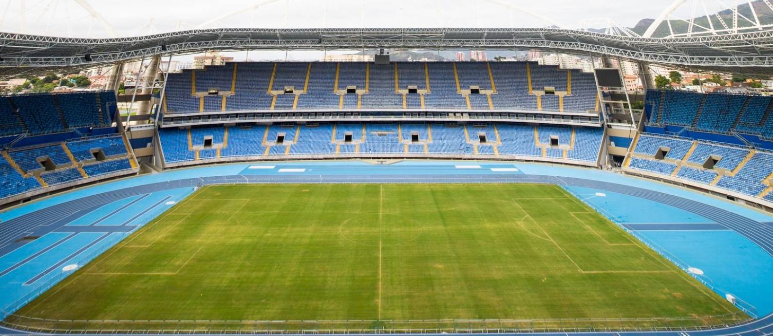 Estádio Olímpico do Engenhão Foto: Gabriel Nascimento / Rio-2016