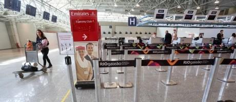 Dificuldades. Galeão: ideia do governo é licitar novamente o aeroporto Foto: Custódio Coimbra / custodio coimbra