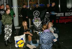 Local onde o grupo neonazista distribui sopa