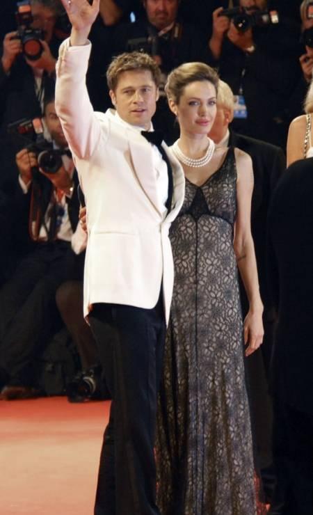No festival de cinema de Veneza, em 2007 Foto: Luigi Costantini / AP
