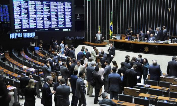 Sessão do Congresso Nacional Foto: Luis Macedo/Agência Câmara