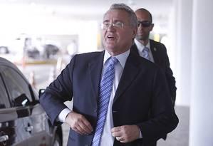 O presidente do Senado, Renan Calheiros Foto: Jorge William / Agência O Globo 19/09/2016
