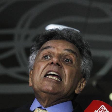 O primeiro-secretário da Câmara, deputado Beto Mansur (PRB-SP), durante entrevista Foto: Givaldo Barbosa