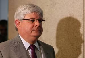 O procurador-Geral da República, Rodrigo Janot Foto: Michel Filho/20-6-2016