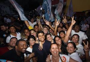 Campanha polÍtica do candidato Pedro Paulo à prefeitura do Rio Foto: Paulo Nicolella/3-9-2016