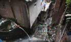 Impasse. Área sem tratamento de esgoto na Rocinha: governo do Rio e BNDES divergem quanto à àrea da concessão de serviços de saneamento Foto: Custódio Coimbra / Custodio Coimbra/15-1-2016