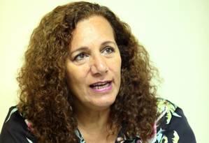 A candidata Jandira Feghali, do PCdoB Foto: Fabiano Rocha / 08-09-16 / Agência O Globo