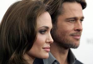 Angelina Jolie e Brad Pitt Foto: Carlo Allegri / REUTERS