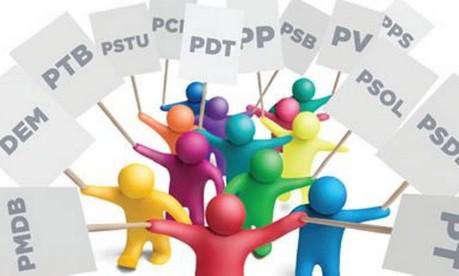 Legendas partidárias do sistema eleitoral brasileiro Foto: Reprodução