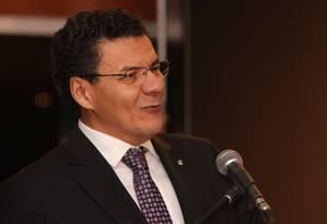 O presidente da Associação dos Juízes Federais do Brasil, Roberto Veloso, em sua cerimônia de posse Foto: Divulgação