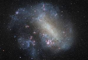 Imagem da Grande Nuvem de Magalhães foi premiada no mais importante concurso de fotografia astronômica Foto: Carlos Eduardo Fairbairn