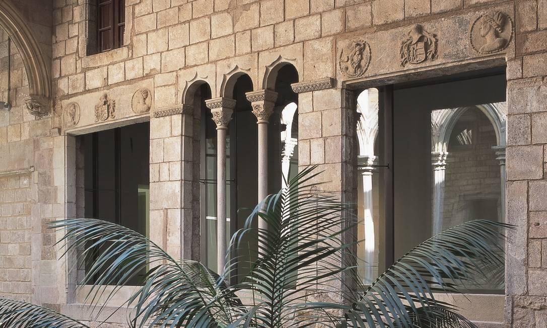 Prédio do Museu Picasso, em Barcelona Foto: Bruno Rosa