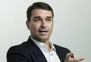 """Bolsonaro: """"As pessoas sabem que não vão se surpreender. A gente não se curva diante da ditadura do politicamente correto"""" Foto: Leo Martins"""
