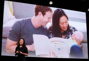 Pricilla Chan durante anúncio de novo projeto em saúde da Iniciativa Chan Zuckerberg. Foto: BECK DIEFENBACH / REUTERS