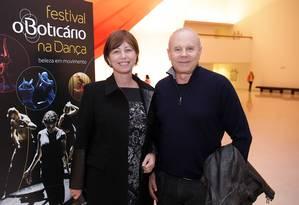 O ex-ministro Guido Mantega e a mulher Eliane Berger Foto: Divulgação