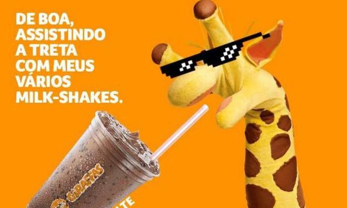 Resultado de imagem para giraffas usa memes