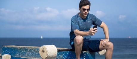O personal trainer Diogo Clarindo vai lançar aplicativo que liga professores de ginástica e alunos Foto: Leo Martins / Agência O Globo
