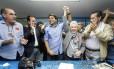 O anúncio da chapa Pedro Paulo e Cidinha: promessa de ter vice ativa